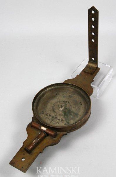 8011: Early 19th C. Surveyor's Compass