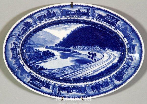 8024: Railroad Platter