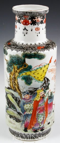 2003: Early 20th C. Chinese Famille Rose Vase