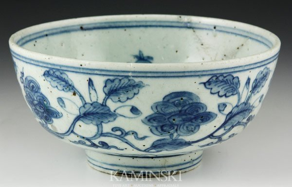 2020: Chinese Ming Blue and White Bowl