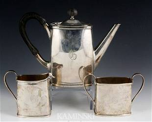 3 Piece Erickson Sterling Tea Set