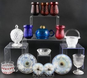 9014: Collection of 19th C. Glass