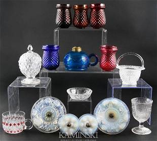 Collection of 19th C. Glass
