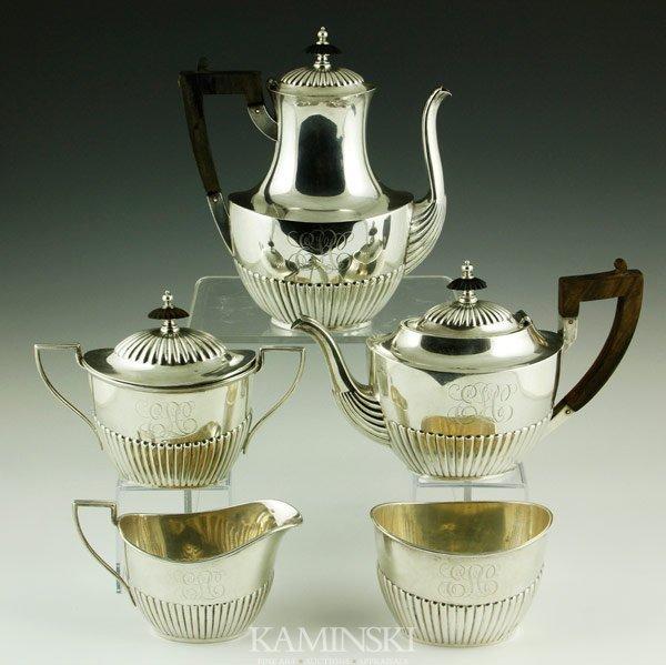 3001: Gorham 5 Piece Tea Set
