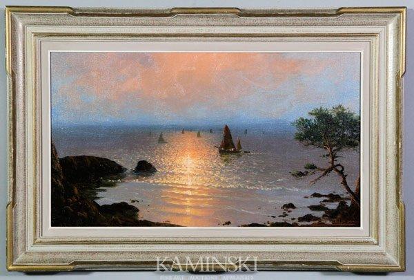 3013: Vidal, Sunset Over Water, O/C