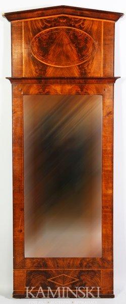 3020: German Biedermeier Hall Mirror