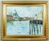 Jane Peterson, Venice Scene, O/C