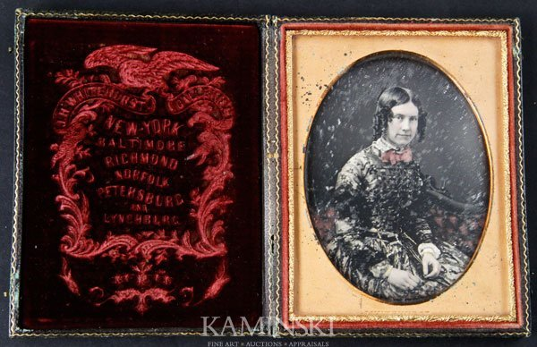 6011: Daguerreotype of Young Woman