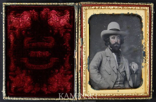 6018: Daguerreotype of Bearded Gentleman