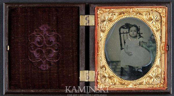 6023: Ambrotype of Seated Child