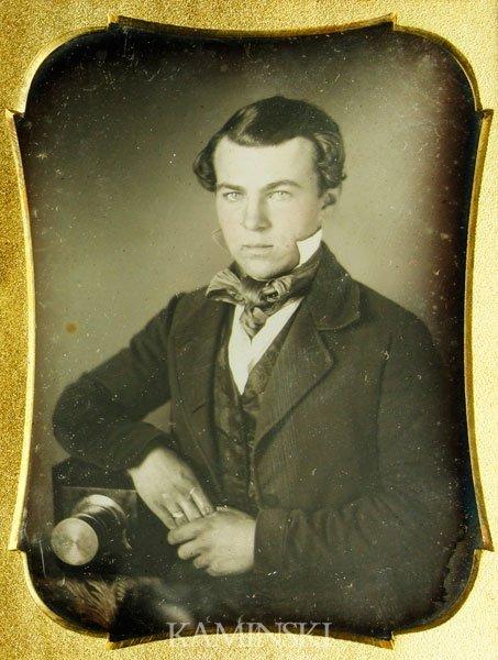 6080: Daguerreotype of Photographer - 2