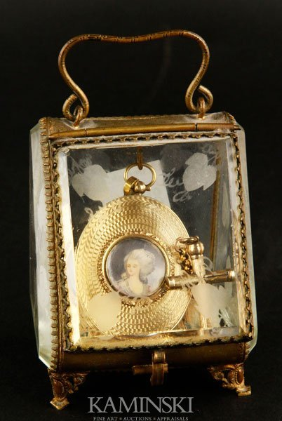 6093: French 18K Gold Pocket Watch