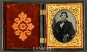 6143 Ambrotype of Young Man