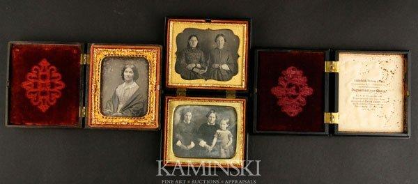7011: 3 Daguerreotypes