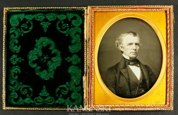 7012A: Daguerreotype of a Gentleman