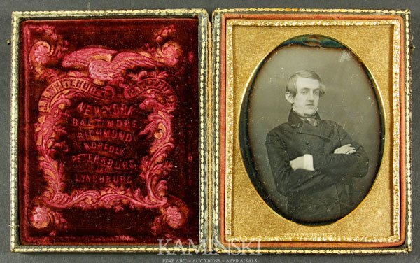 7013A: Whitehurst Daguerreotype of Gentleman