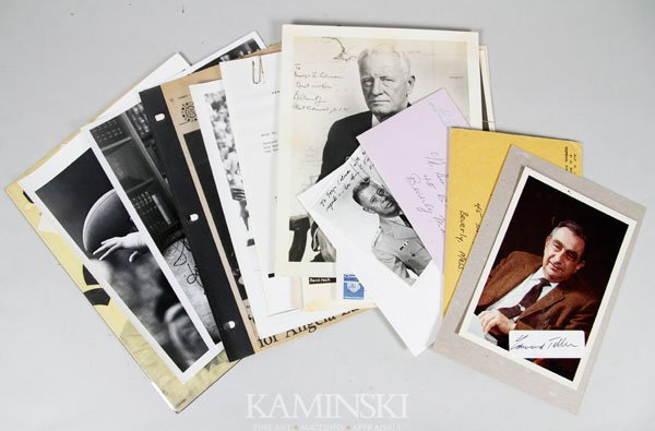 7016: Autographed Photographs and Letters