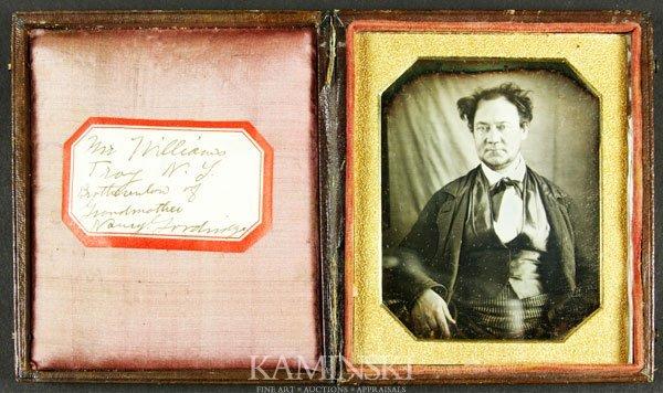 7016A: Daguerreotype of a Gentleman