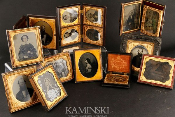 7017: 7 Tintypes and 8 Ambrotypes