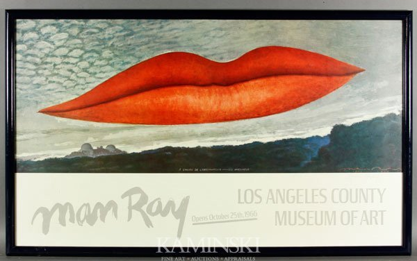 4001: Ray, Signed Exhibition Poster