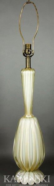 4016: Murano, Art Glass Table Lamp