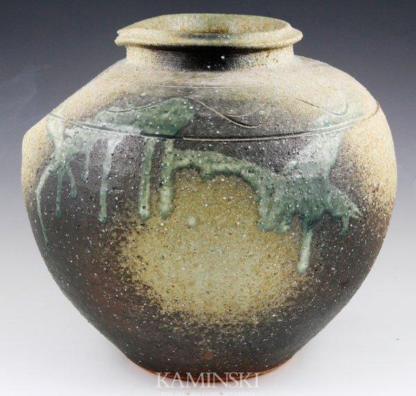 4020: Shigaraki Ware Pottery Vessel