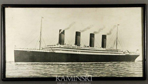 5002: Titanic Tichnor Brothers Print