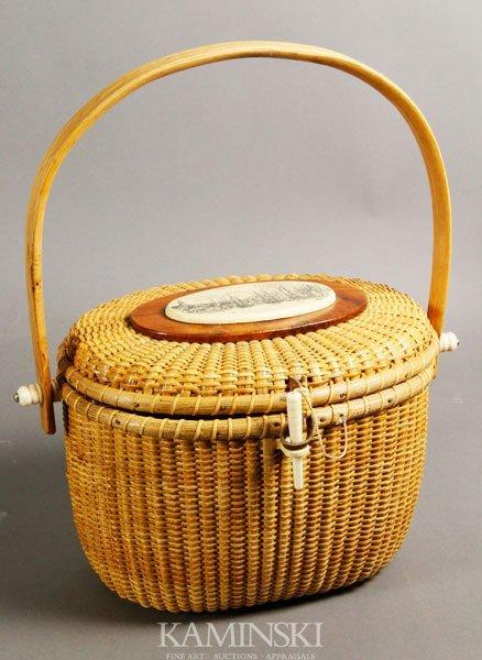 5003: Nantucket Light Ship Basket