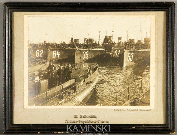 5012: Speck, German U-Boat Flotilla, Photograph