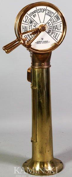 5014: Brass Ship Telegraph