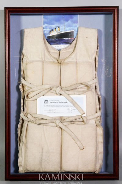 """5017: """"Titanic"""", Life Preserver from the Movie"""