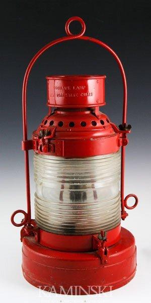 5019: Dressel Port-side Lantern