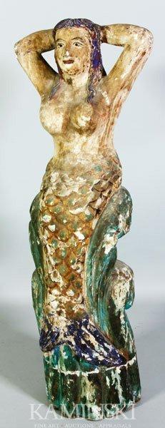 5022: Carved Mermaid