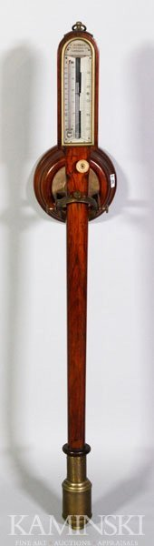 5042: Ships' Gimballed Barometer and Thermometer