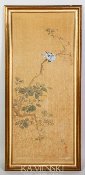 8018: Chinese Qing Painting