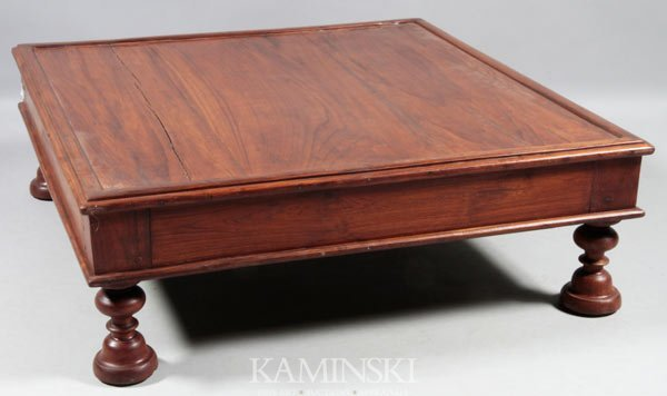 8021: Chinese 19th C. Huanghuali Table