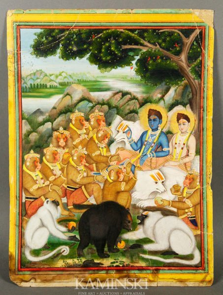 9001: 19th C. Indian Painting