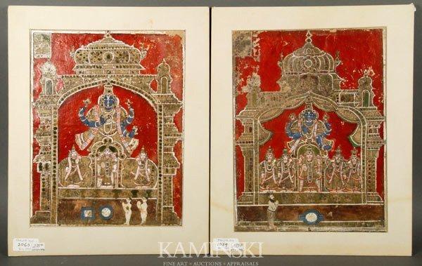 9002: Pair of Indian Paintings