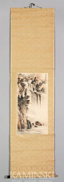 9008: Chinese Scroll Painting