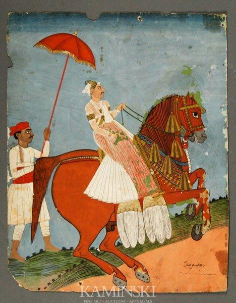9009: Persian Antique Painting