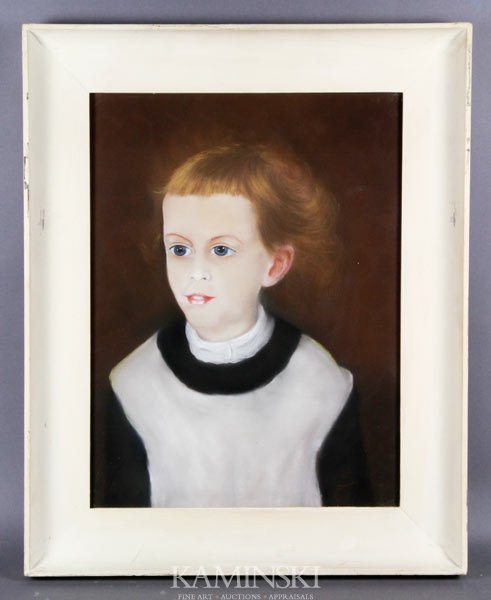 1023: Portrait of Young Girl, Pastel