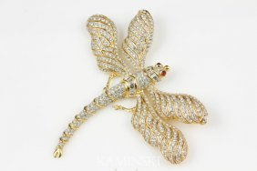 3016: Custom Dragon Fly Pin