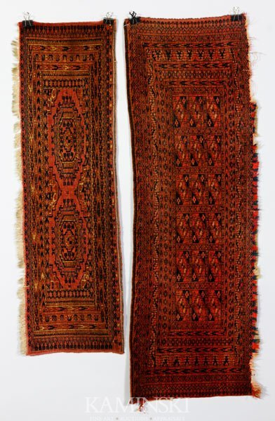 3017: Pair Turkoman Saddle Bag Mats