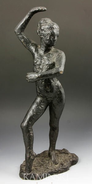 3020: Bronze Nude Dancer