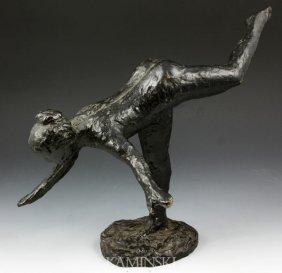 3021: Bronze Nude Dancer