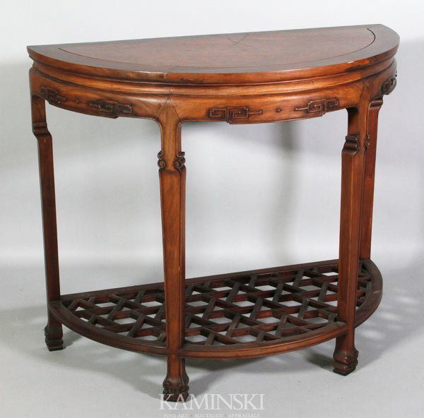 3026: Chinese Carved Table