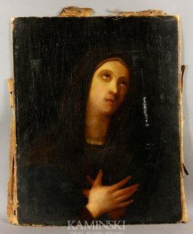 3059: 18th C., Virgin Mother, O/C