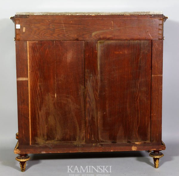 3162A: 19th C. French Marquetry Cabinet - 7