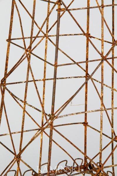 3198: Wire Eiffel Tower Sculpture - 2