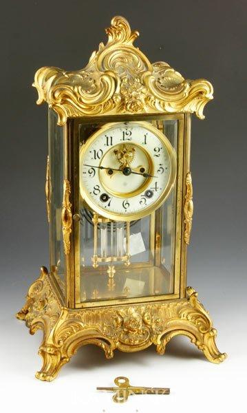 2003: Early 20th C. Ansonia Shelf Clock